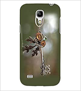 PrintDhaba Anique Key D-2386 Back Case Cover for SAMSUNG GALAXY S4 MINI (Multi-Coloured)