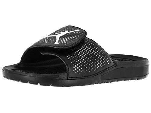 55f254b0207c Nike Jordan Kids Jordan Hydro 5 BG Black White Cool Grey - Import It All