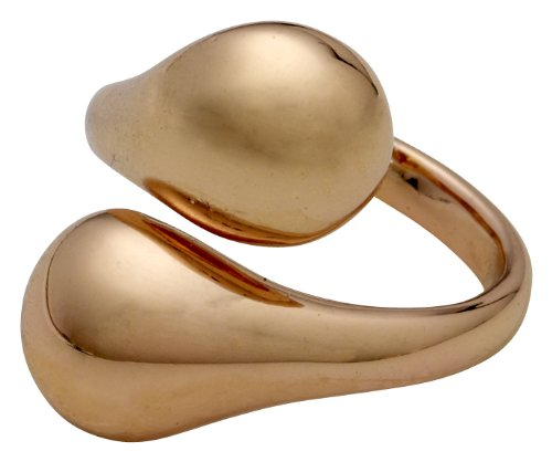 Pilgrim Jewelry Damen-Ring Messing aus der Serie mindfullness roségold beschichtet, 2 cm Gr. 53 (16.9) 161324004