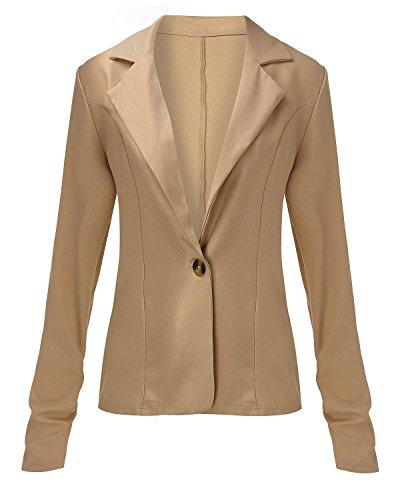 ZANZEA-Femme-Sexy-OL-Rever-Blazer-Col-V-Veste-Manches-Longues-Boutton-Manteau-Tailleur-Top-Suit