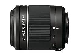 Sony DT 55-200mm F/4 - 5.6 Telephoto Zoom Lens for Sony DSLR Camera