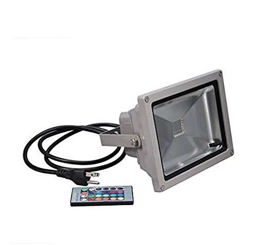 Soled 16 Color Tones RGB LED Flood Light for Illumination and Beautification of Home Hotel Garden Landscape (Electric Garden Lights compare prices)