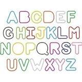 Silly Bandz Alphabet Shapes