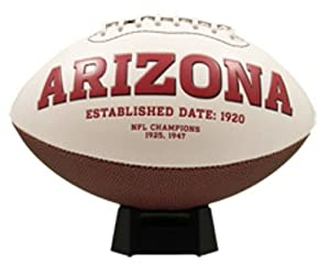 NFL Arizona Cardinals Signature Series Team Full Size Footballs by The License Products Company
