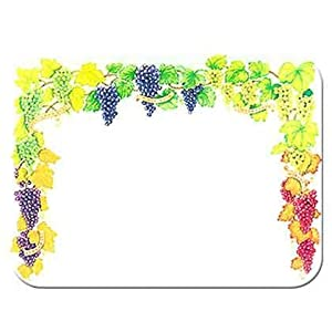 Amazon.com: Tuftop Grapes Cutting Board Size: Small (9