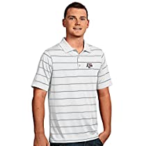 Antigua Men's Texas A&M Aggies Deluxe Short Sleeve Polo