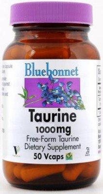 Taurine 50 VCAPS 1000 mg - Bluebonnet