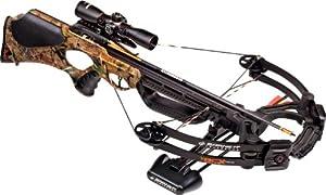 Barnett Buck Commander CRT Crossbow Package (Quiver, 4 - 22-Inch Arrows and... by Barnett Crossbows