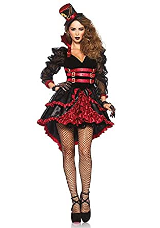 Amazon.com: Leg Avenue Women's Victorian Vamp: Clothing
