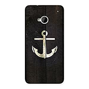 Enticing Bold Anchor Back Case Cover for HTC One M7