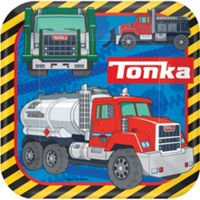 Tonka Truck Lunch Plates 8ct