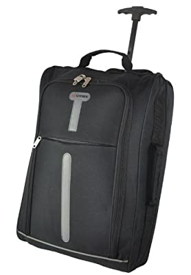 "cabin size, 21""hand luggage ,light weight ,wheel bag aerolite. by 5 Cities"