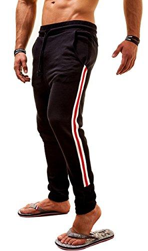 Diesel Uomo Pantaloni sportivi Martin Motion Divison, nero, Medium
