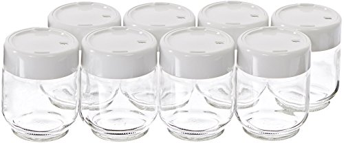 Euro Cuisine Set of 8 Glass Jars for Yogurt Maker GY2640 (Euro Cuisine Jars compare prices)