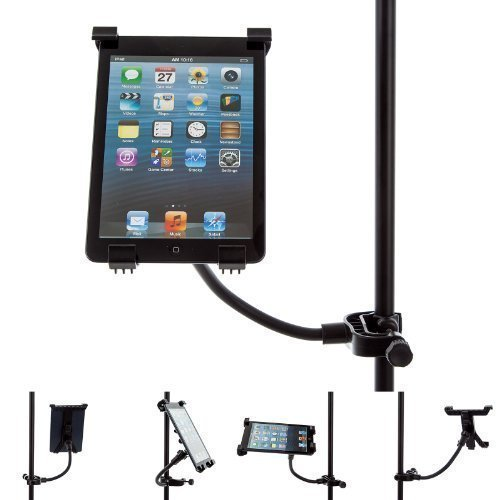 Ultimate Addons Music Microphone Stand Mount With Adjustable Holder For Apple Ipad Mini