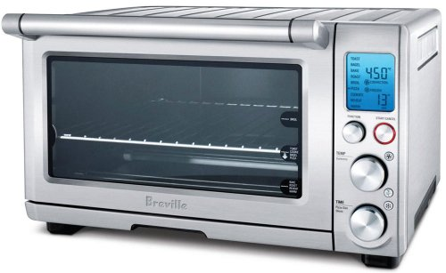 Breville BOV800XL Smart Oven 1800-Watt Convection Toaster Oven with Element IQ (Breville Toaster compare prices)