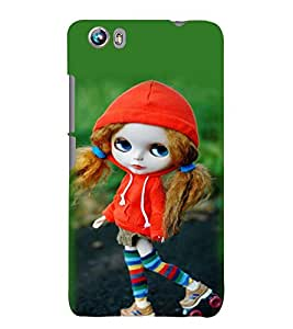 printtech Cute Anime Back Case Cover for Micromax Canvas Fire 4 A107