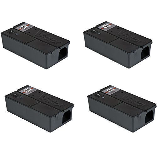 Victor Electronic Mouse Trap Pack Of 4 The Lawn Amp Garden