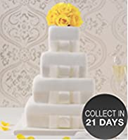 4 Tier Elegant Lemon Wedding Cake