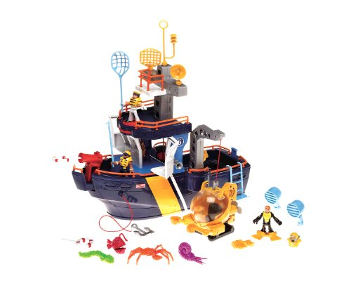 Fisher-Price Imaginext Ocean Boat (Fisher Price Imaginex Boat compare prices)