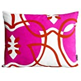 notNeutral Apples Throw Pillow - Pink/Orange