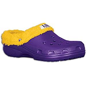 Lsu Tigers Crocs Mammoth Clogs - Men - 8.0