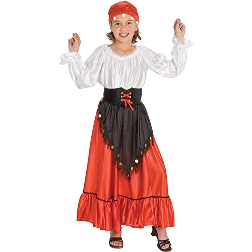 Child Gypsy Halloween Costume (Size: Small 4-6)