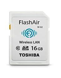 Toshiba Flash Air II Wireless SD Memory Card (PFW016U-1BCW)