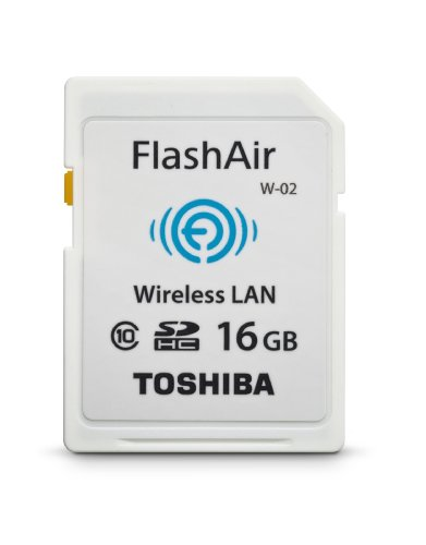 Toshiba Flash Air II Wireless SD Memory Card (PFW016U-1BCW)