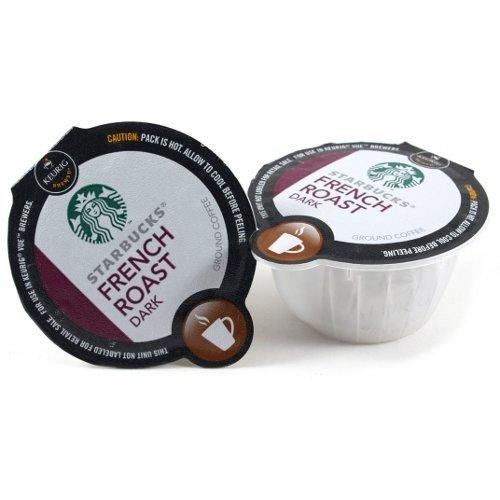 Starbucks Dark French Roast Coffee Keurig Vue Portion Pack, 64 Count (Vue Starbucks French Roast compare prices)