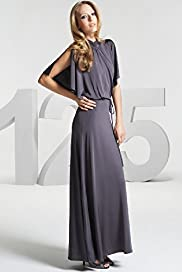 125 Years Limited Collection '70s Inspired Ruched Neck Maxi Dress