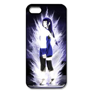 TConline HYUGA NEJI in Naruto-Cool Custom case cover for Apple iphone 5/5th-Printed Hard Plastic case-Naruto Style series