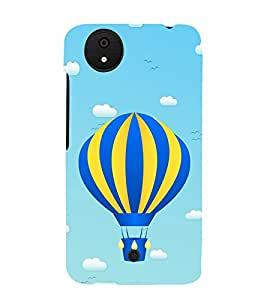 Hot Air Balloon 3D Hard Polycarbonate Designer Back Case Cover for Micromax Canvas Android A1 AQ4501 :: Micromax Canvas Android A1