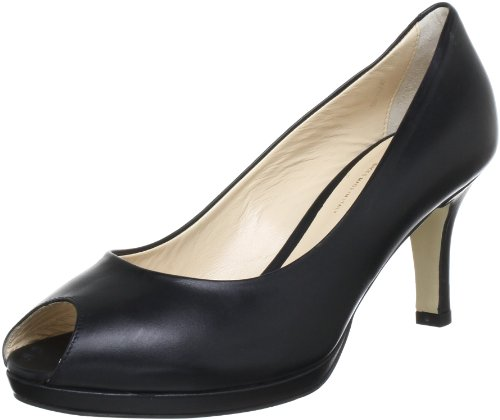 Evita Shoes Peeptoe Peep-Toe Women's black Schwarz (schwarz) Size: 36