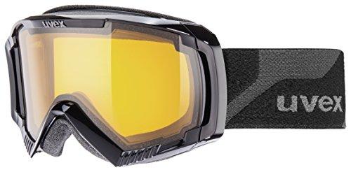 Uvex Skibrille apache II LGL black