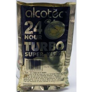 alcotec 24 hour turbo yeast instructions