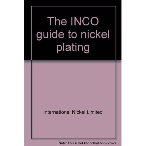 : International Nickel Limited: 9780901288042: Amazon.com: Books