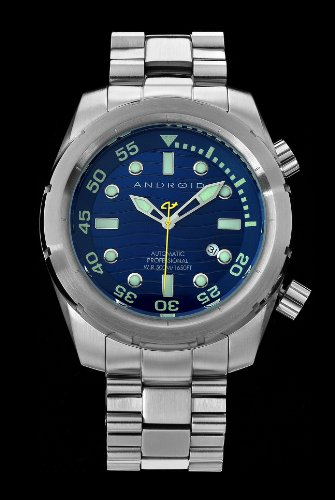 Android Armor-50 Automatic Stainless Steel Bracelet Watch