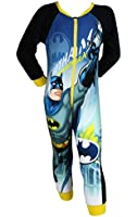 Boys Official Batman Superhero Onesie Playsuit Sleepsuit Romper - Several Styles and Sizes Available