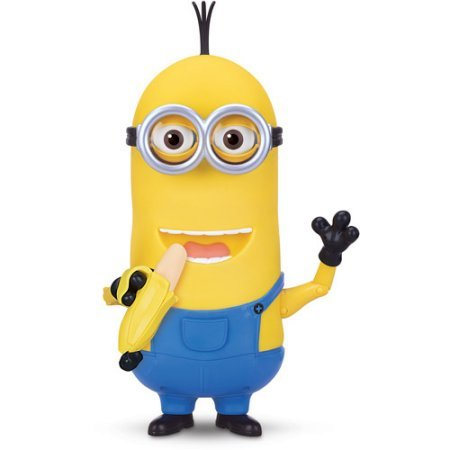 Minion Kevin Banana Eating Action Figure 35 Minion Sayings and Sounds By Minions