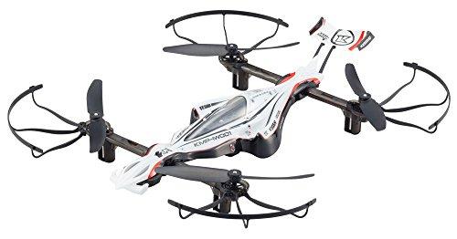 DRONE RACER G-ZERO (ドローンレーサー ジーゼロ)ダイナミックホワイト レディセット ドローン規制対象外200g未満 自動ホバリングドローンレースクワッドコプター