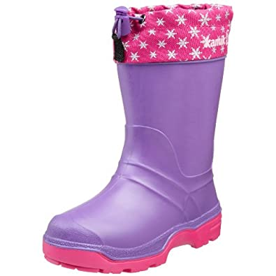 Kamik Snowkone 6 Cold Weather Boot (Toddler/Little Kid/Big Kid),Lilac,6 M US Big Kid