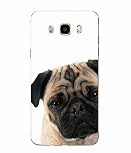 Make My Print Dog Printed Multicolor Soft Back Cover For SAMSUNG Galaxy J5 - 6 (New 2016 Edition)