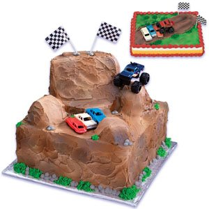 #2 How About Monster Truck Cake Decorating Kit