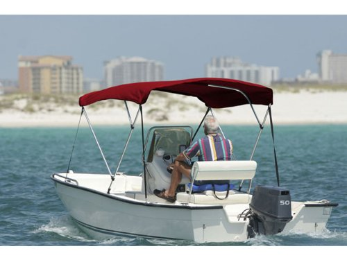 SafeGuard Premium Bimini Top 3 Bow  all Hardware