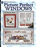img - for Picture perfect windows: Painted window projects for all seasons book / textbook / text book