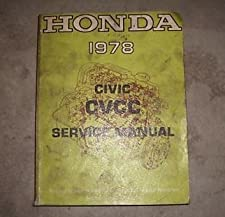 Honda Civic Cvcc Shop Service Repair Manual Oem