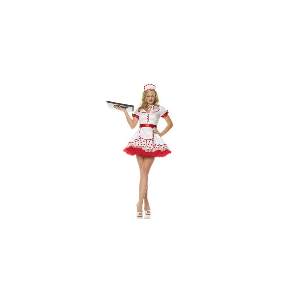 Diner Betty Costume Extra Small