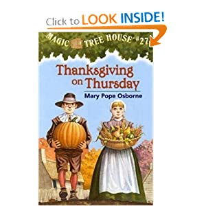 Thanksgiving on Thursday (Magic Tree House #27) by Mary Pope Osborne and Sal Murdocca