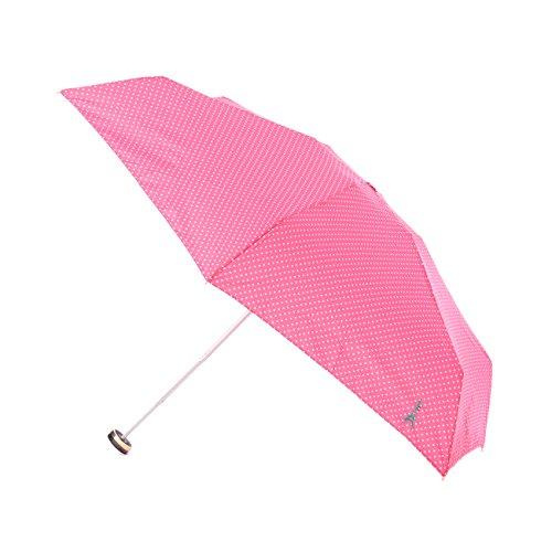 (ハッシュアッシュ)HusHusH ドットエッフェル折畳み傘 ピンク(072) 00